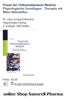 Orthomolekulare Medizin.Vitalstoffe: Vitamine und Spurenelemente