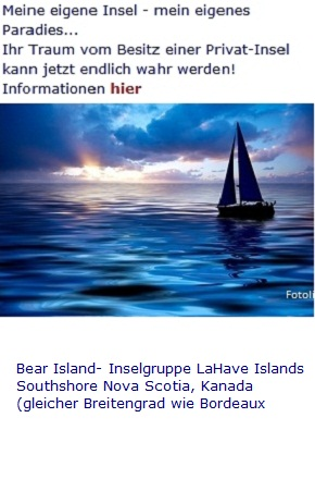 Privatinsel Bear Island, Nova Scotia: sicheres Investment in unsicheren Zeiten