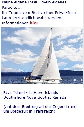 Sicherheit: Investieren in eine Privatinsel -  Bear Island, Nova Scotia
