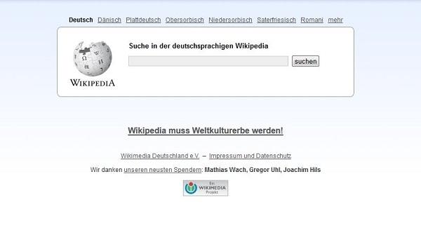 Wikipedia Deutschland