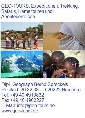 Geo-Tours, Expeditionen,Erlebnisreisen