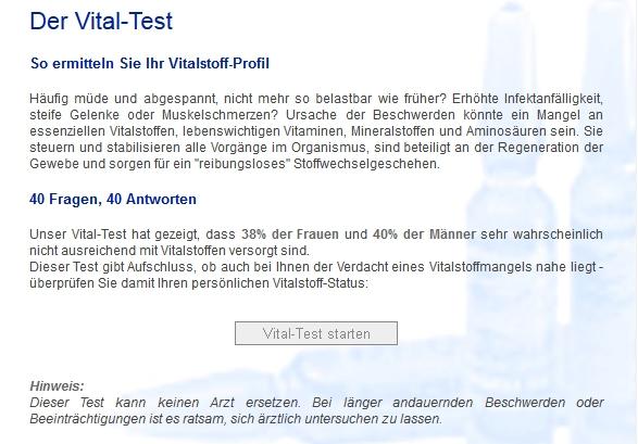 Vital-Test: Vitamine und Spurenelemente vpon Sanorell sind unverzichtbar