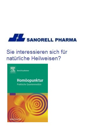 Hom�opunktur,Vitalstoffe: Vitamine und Spurenelemente