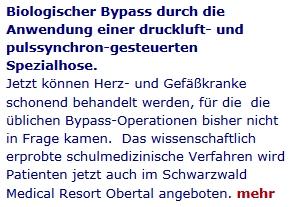 Biologischer Bypass Schwarzwald Medical Resort