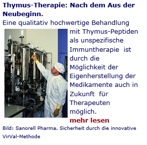 Thymus Therapie bei Krebs